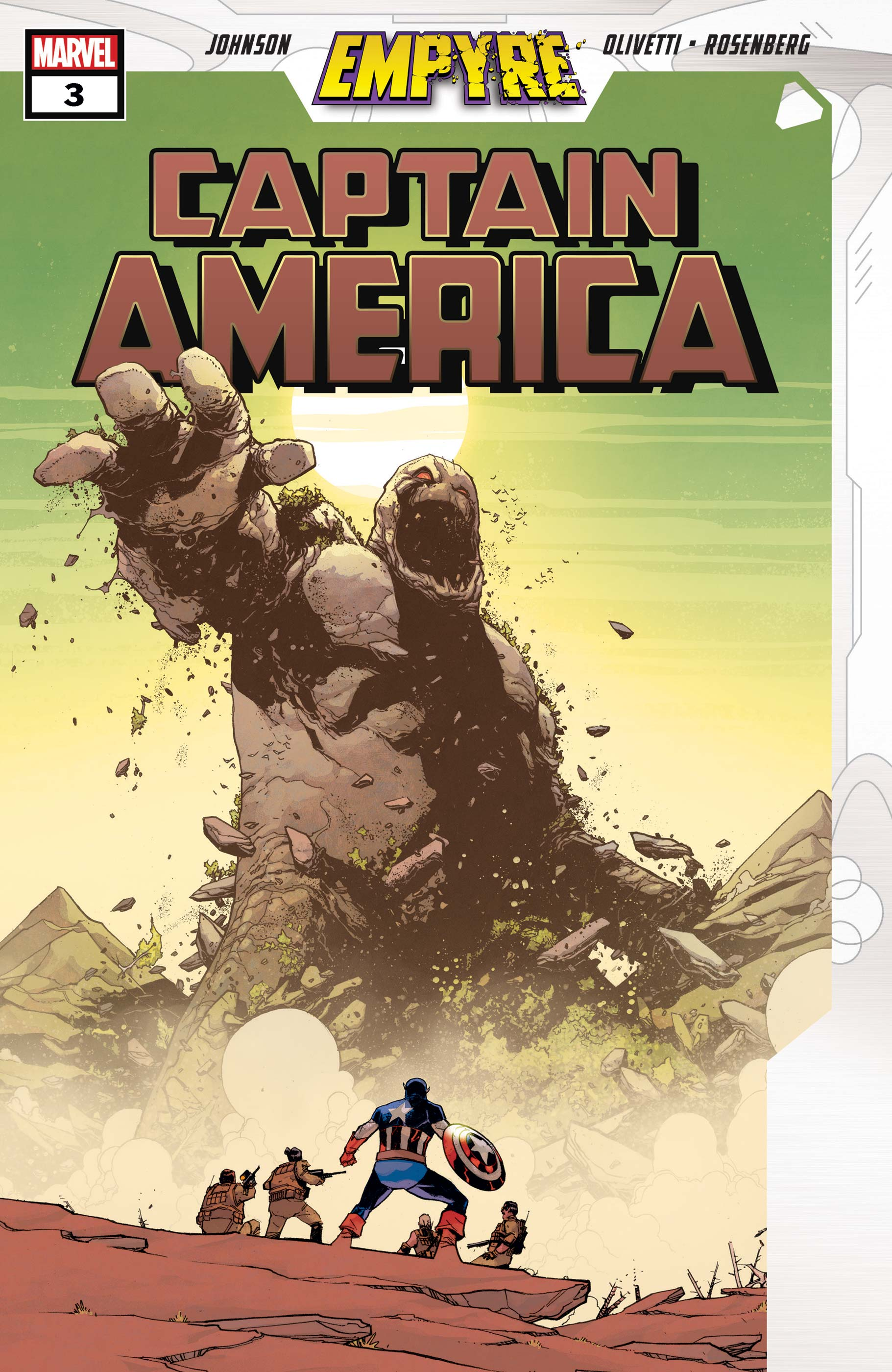Empyre: Captain America (2020) #3
