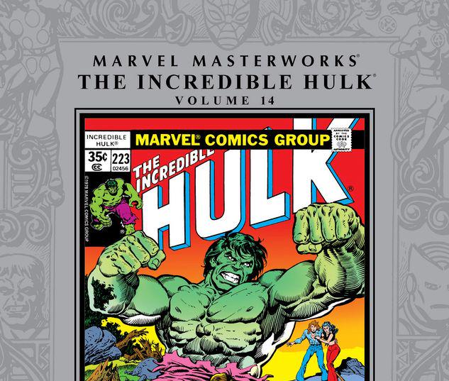 MARVEL MASTERWORKS: THE INCREDIBLE HULK VOL. 14 HC #14