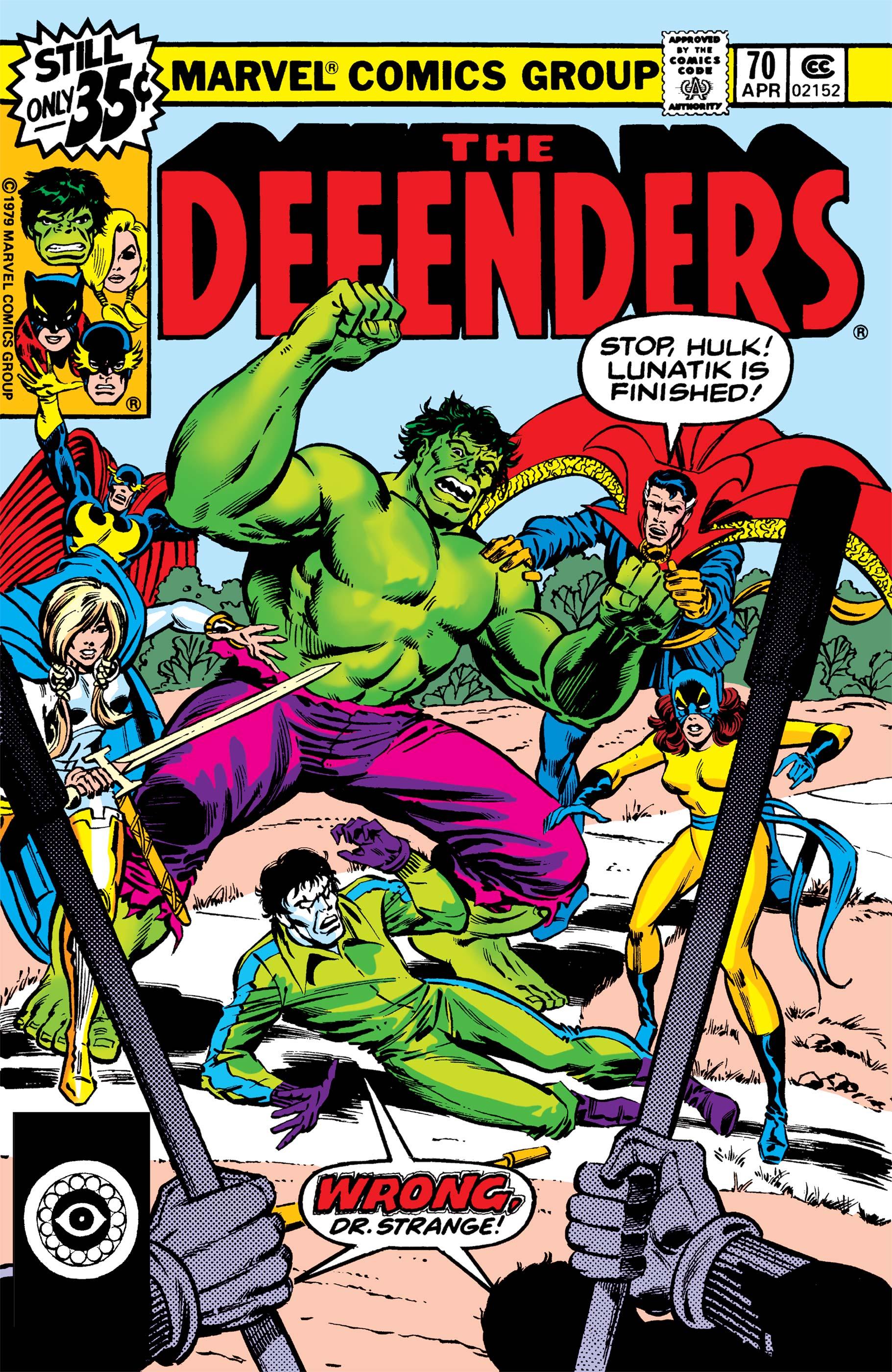 Defenders (1972) #70