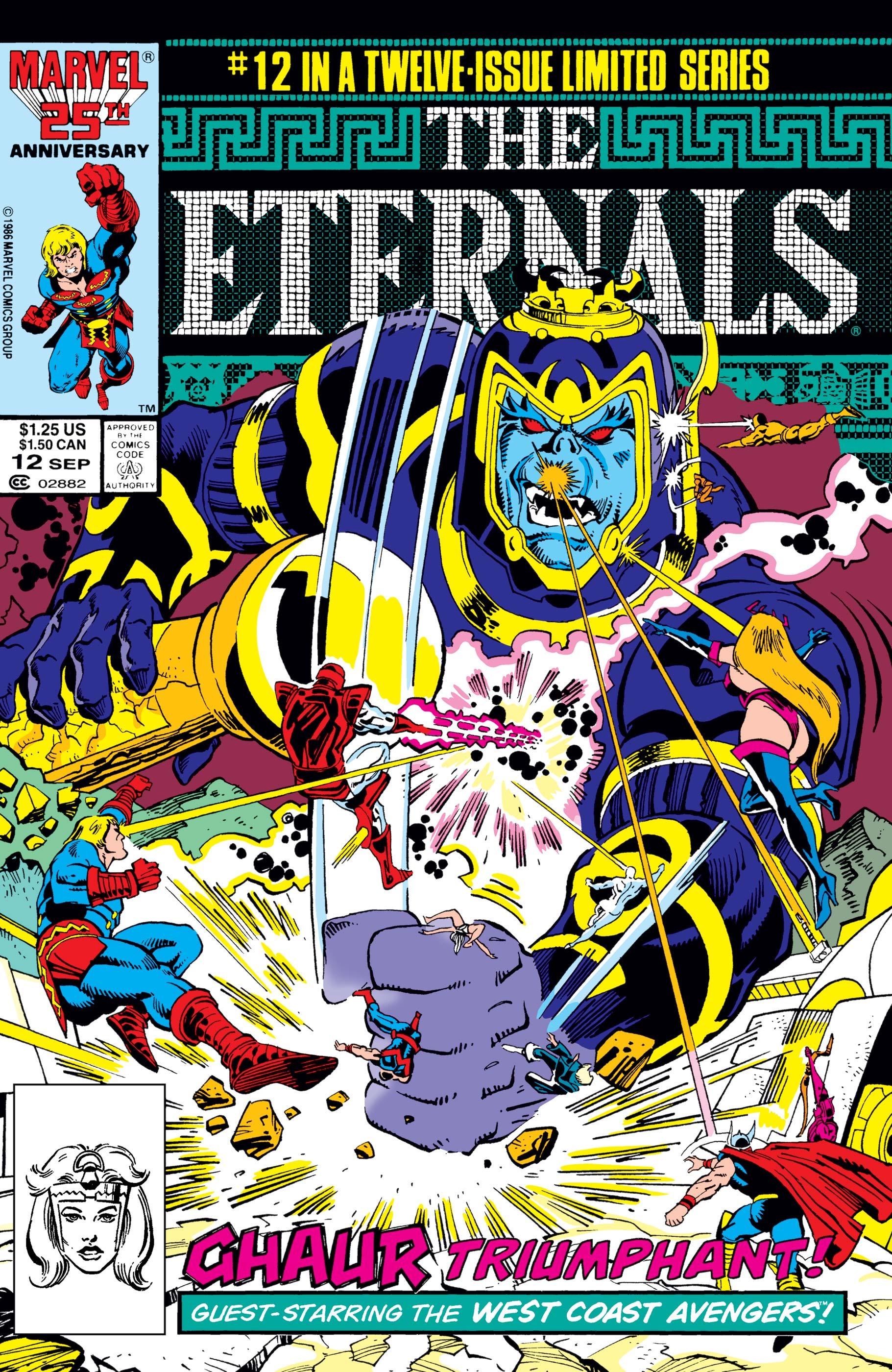 The Eternals (1985) #12