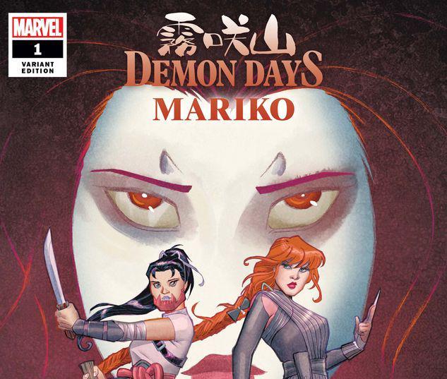 DEMON DAYS: MARIKO 1 CONNER VARIANT #1