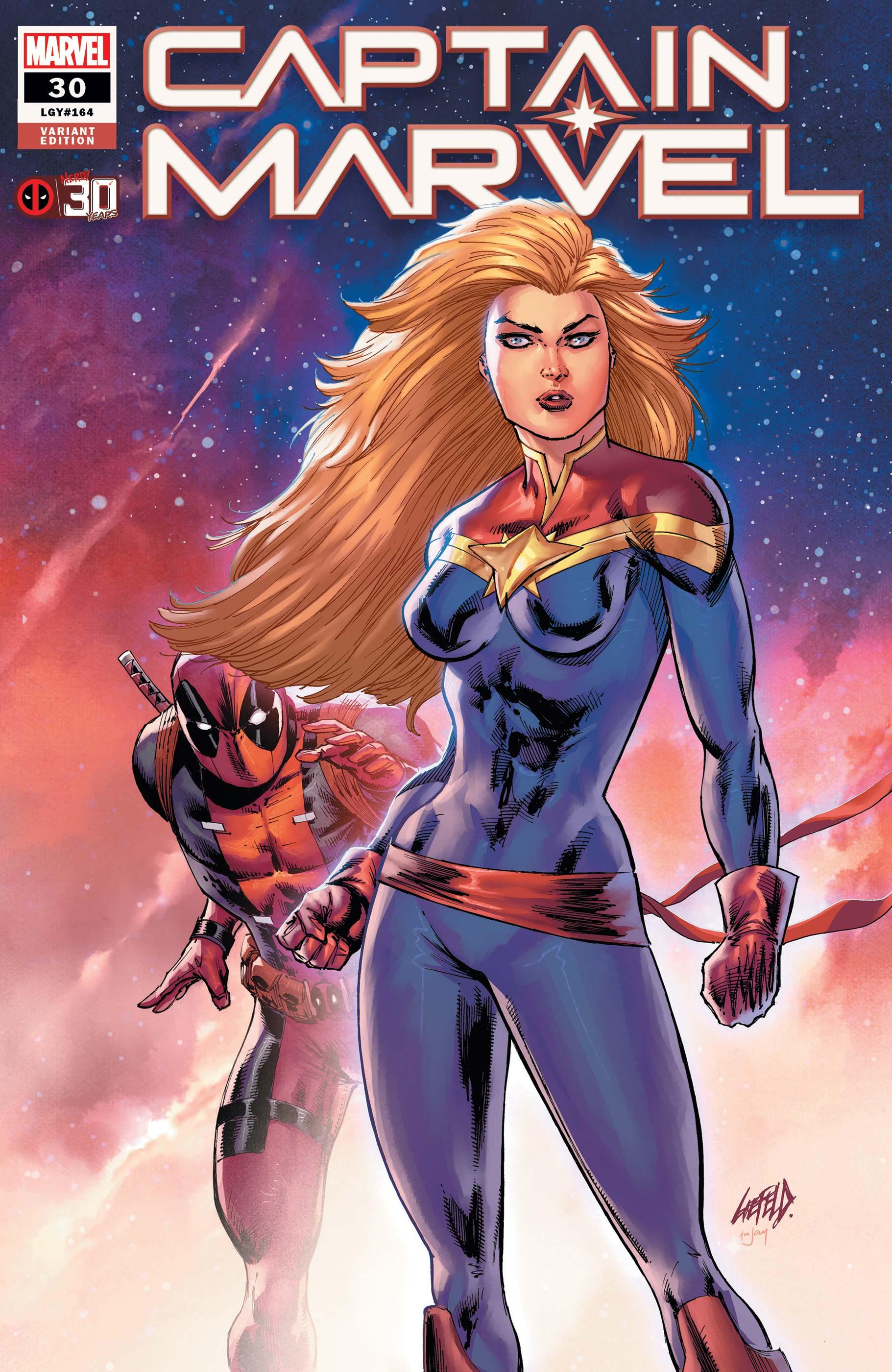 Captain Marvel (2019) #30 (Variant)