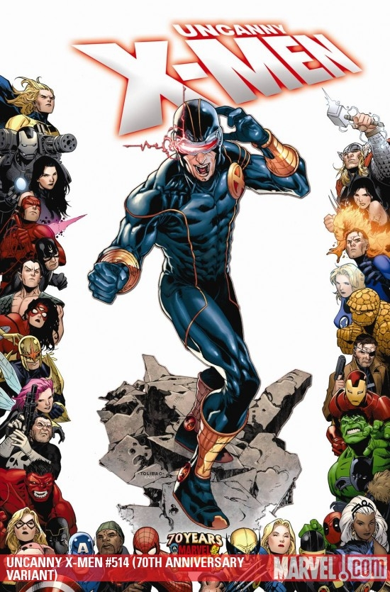 Uncanny X-Men (1963) #514 (70th Anniversary Variant)