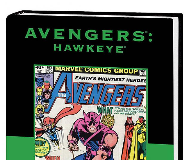AVENGERS: HAWKEYE PREMIERE HC  #1