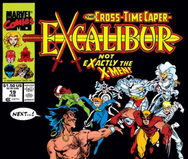 EXCALIBUR #19 COVER