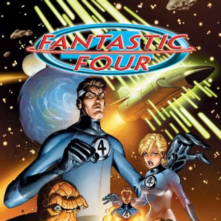 FANTASTIC FOUR VOL. 1: IMAGINAUTS TPB COVER