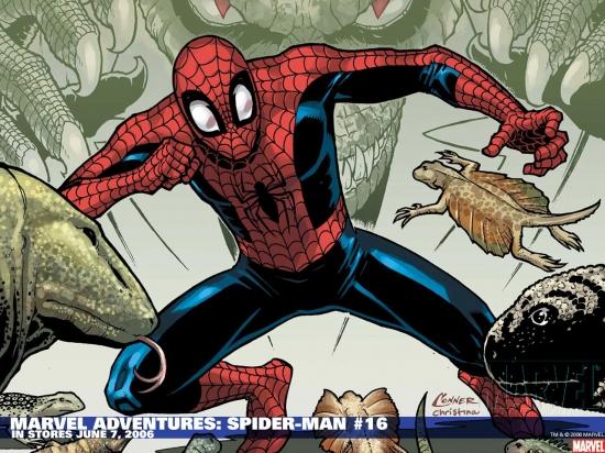 Marvel Adventures Spider-Man (2005) #16 Wallpaper