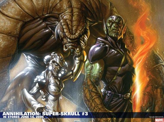 Annihilation: Super-Skrull (2006) #3 Wallpaper