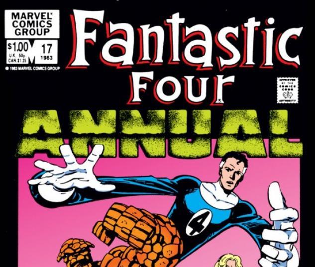 FANTASTIC FOUR ANNUAL #17 COVER