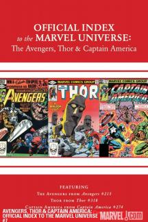 Avengers, Thor & Captain America: Official Index to the Marvel Universe #7