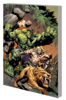 Incredible Hulks: Planet Savage TPB (Trade Paperback)