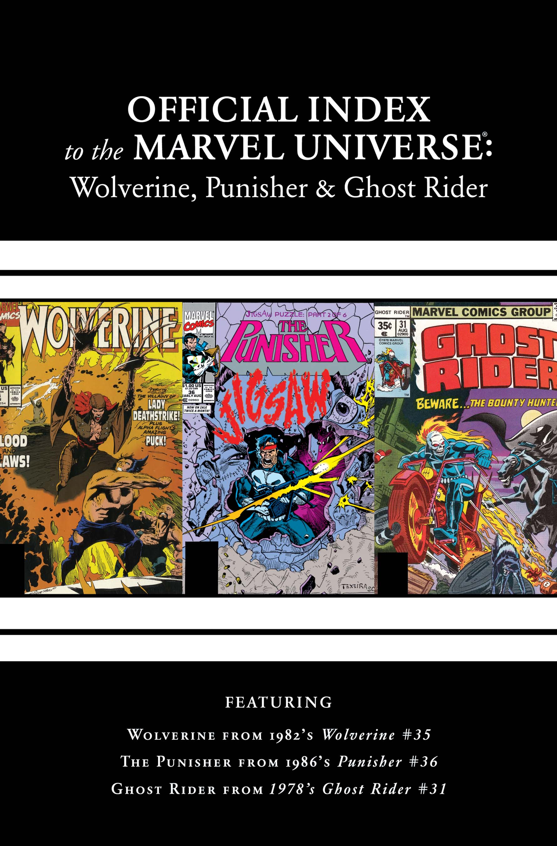 Wolverine, Punisher & Ghost Rider: Official Index to the Marvel Universe (2011) #2