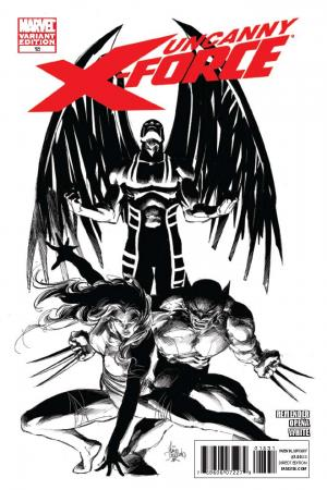 Uncanny X-Force (2010) #15 (Architect Sketch Variant)