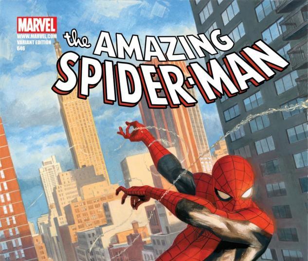Amazing Spider-Man (1999) #646, RIVERA VARIANT