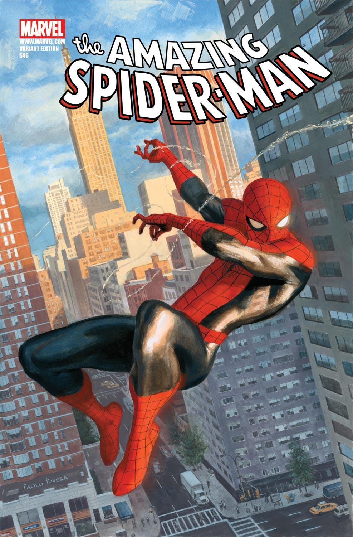 Amazing Spider-Man (1999) #646 (RIVERA VARIANT)