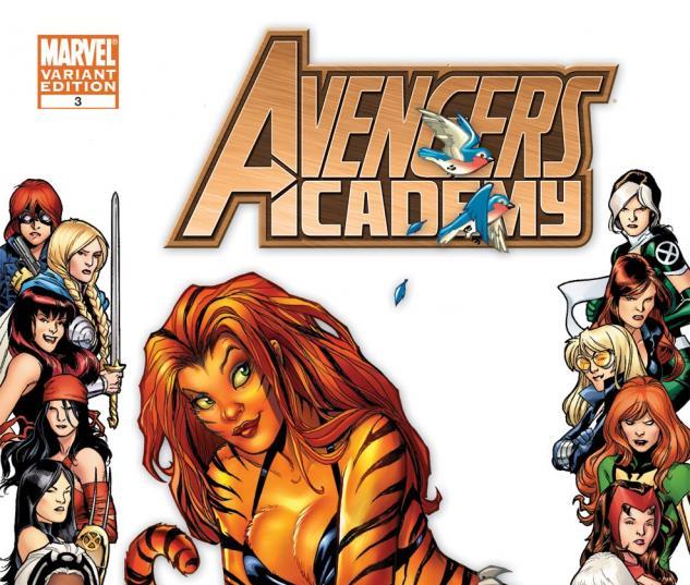 Avengers Academy (2010) #3, Women of Marvel Variant