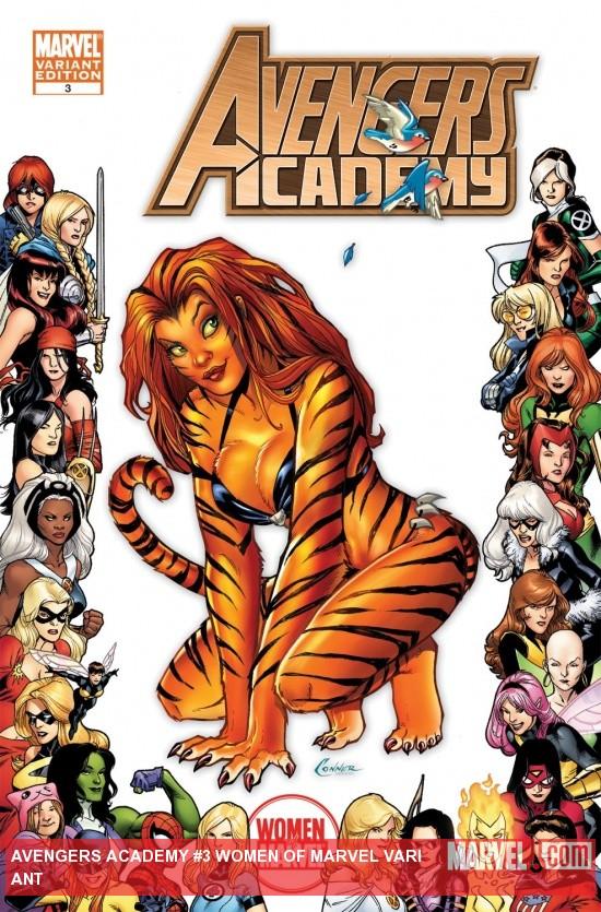 Avengers Academy (2010) #3 (WOMEN OF MARVEL VARIANT)