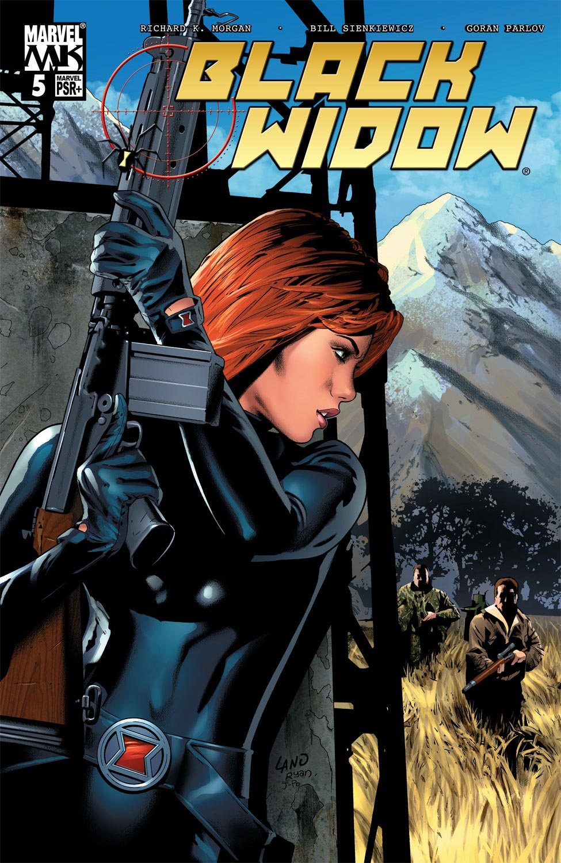 Black Widow (2004) #5