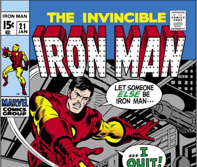 Iron Man (1986) #21