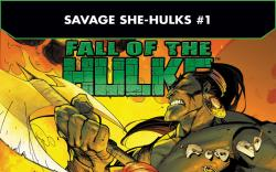 Fall of the Hulks: The Savage She-Hulks (2010) #1