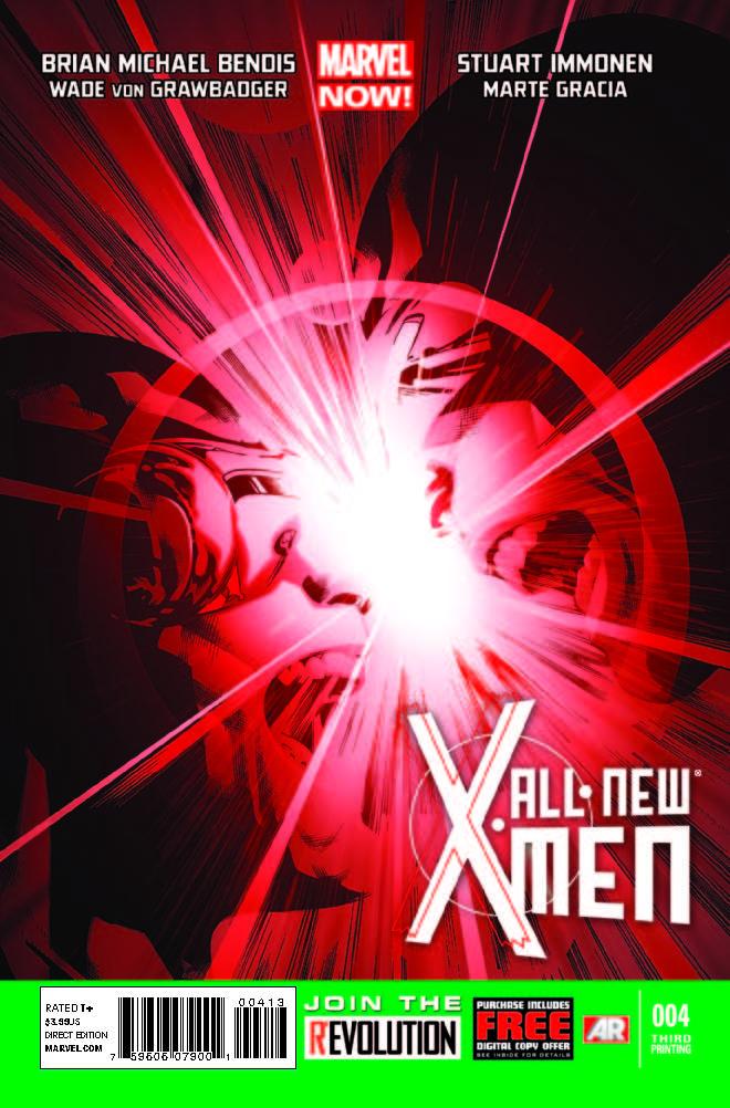 All-New X-Men (2012) #4 (3rd Printing Variant)
