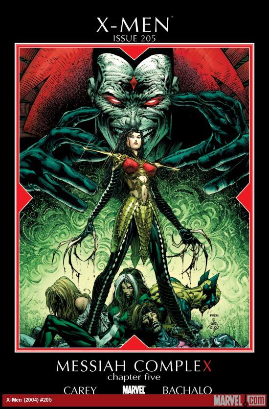 X-Men (2004) #205