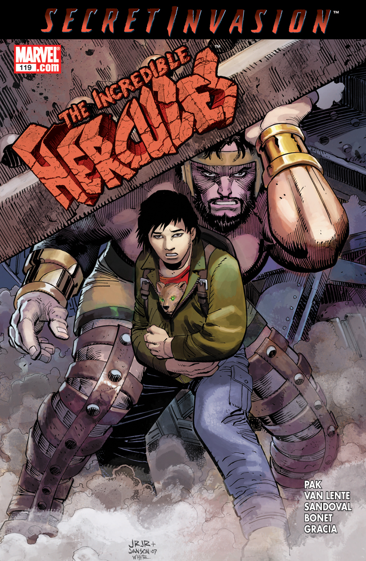 Incredible Hercules (2008) #119