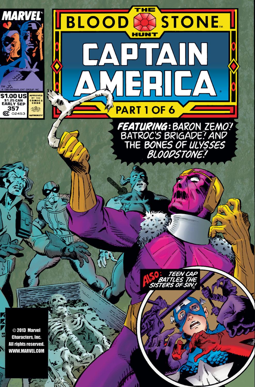 Captain America (1968) #357