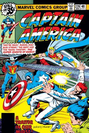Captain America #229