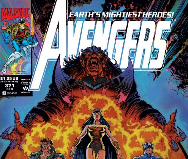 Avengers (1963) #371 Cover
