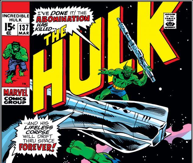 Incredible Hulk (1962) #137 Cover