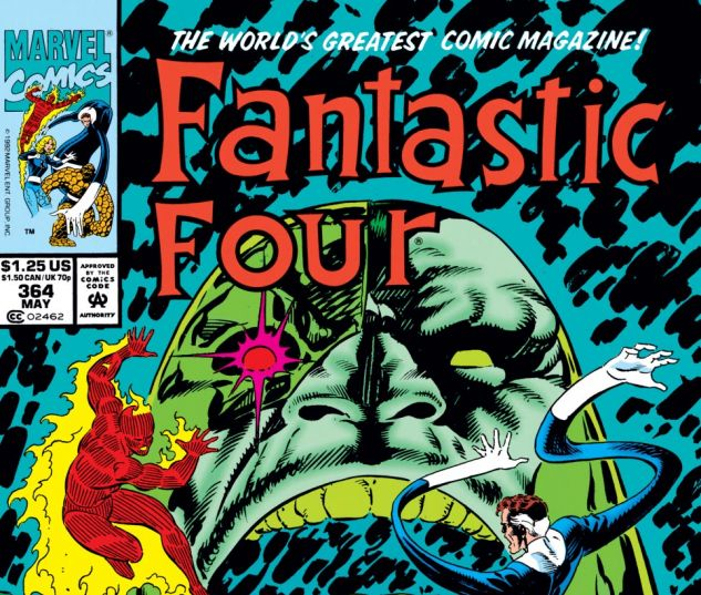 Fantastic Four (1961) #364 Cover