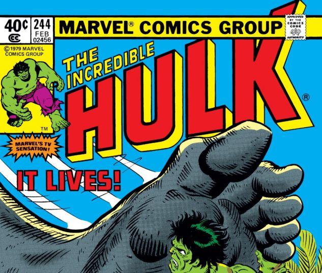 Incredible Hulk (1962) #244 Cover