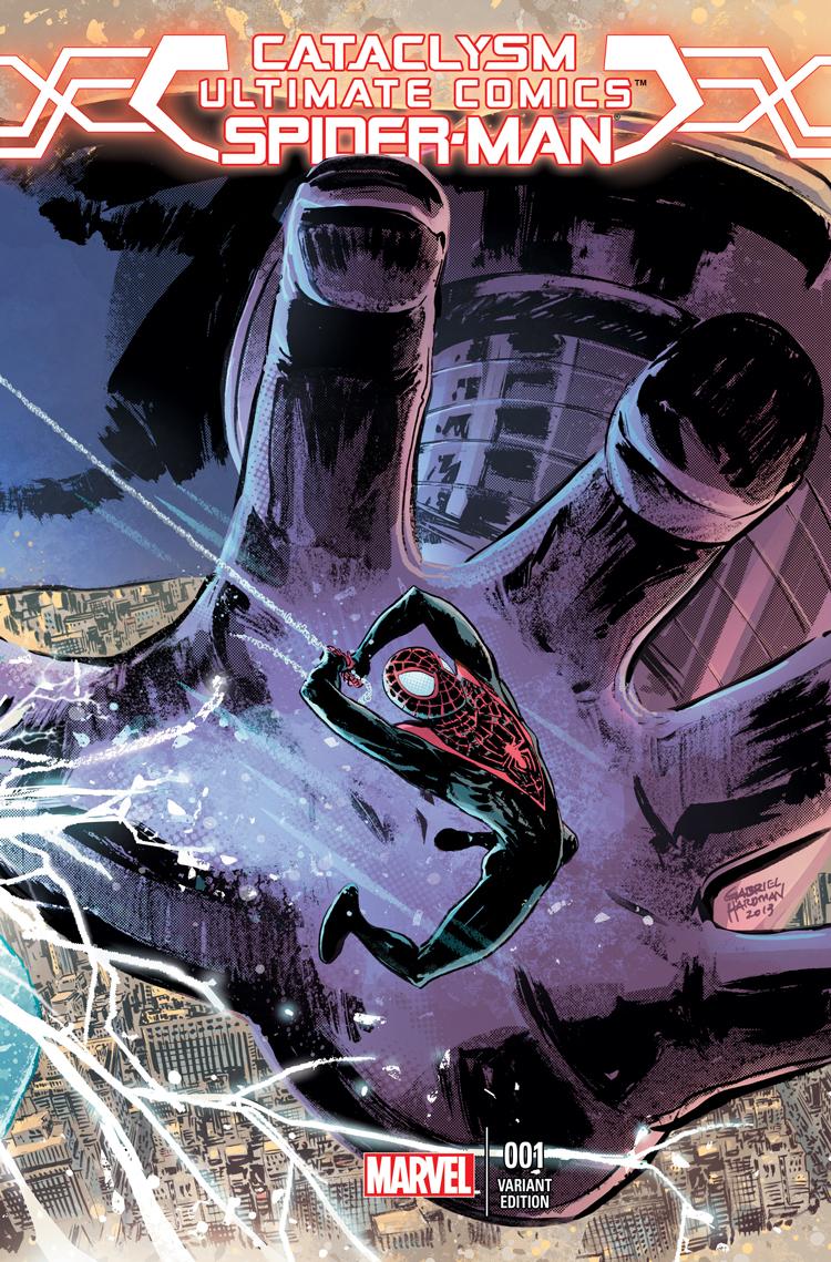 Cataclysm: Ultimate Spider-Man (2013) #1 (Hardman Variant)