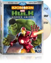 Marvel's Iron Man & Hulk: Heroes United on Blu-ray