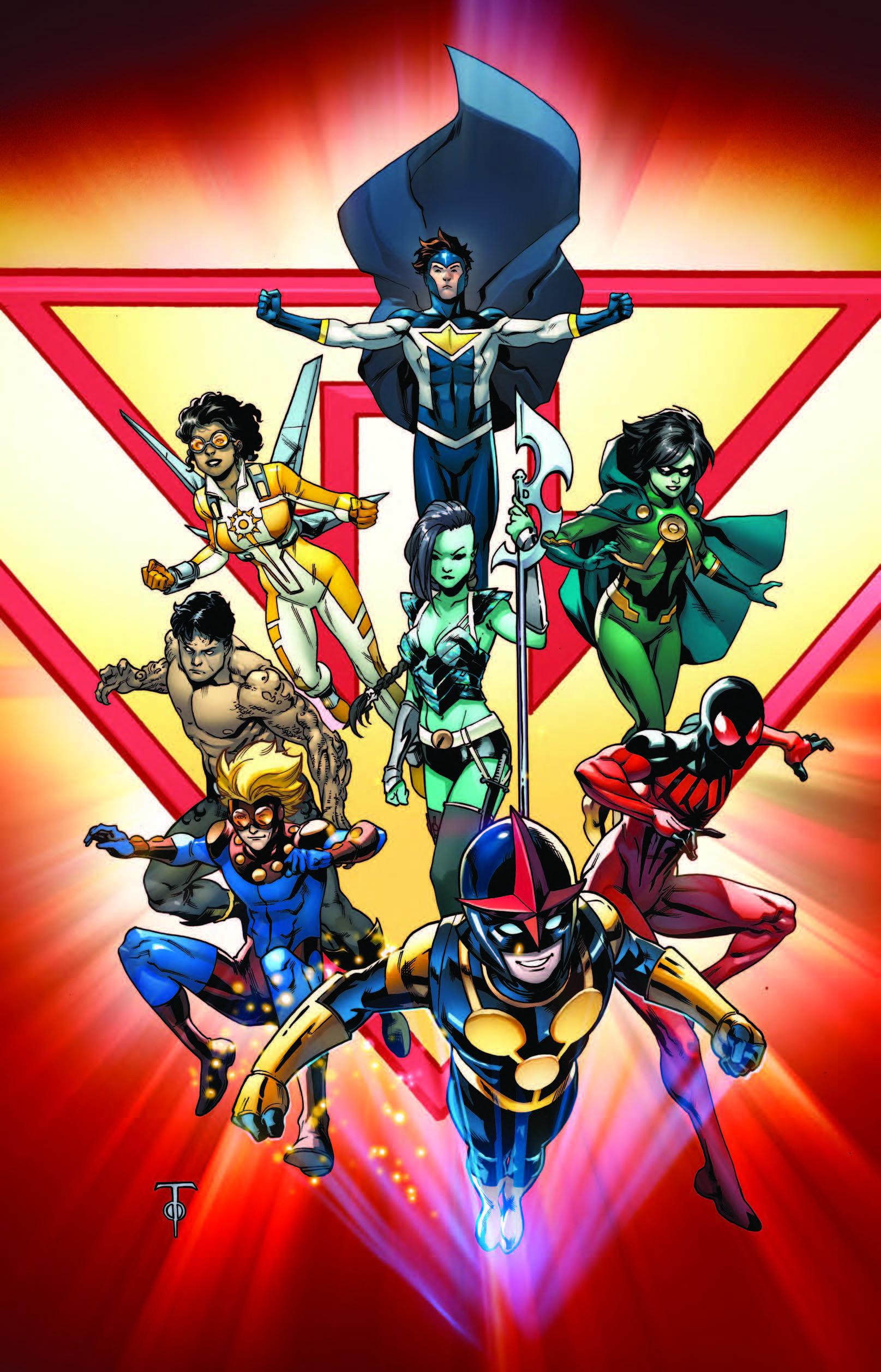 New Warriors (2014) #1