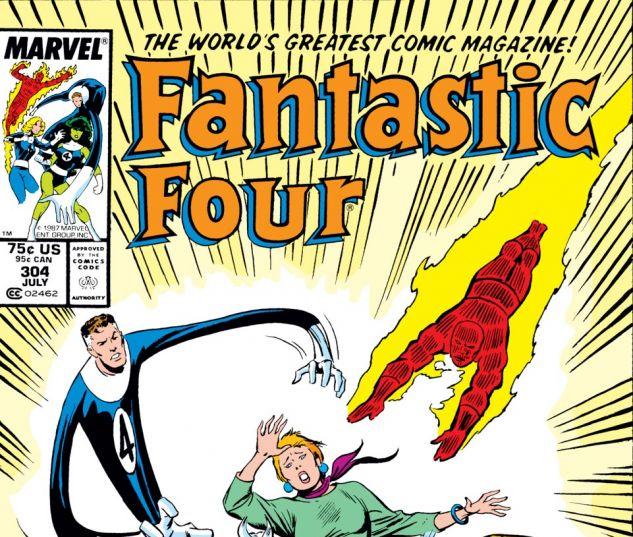 Fantastic Four (1961) #304 Cover