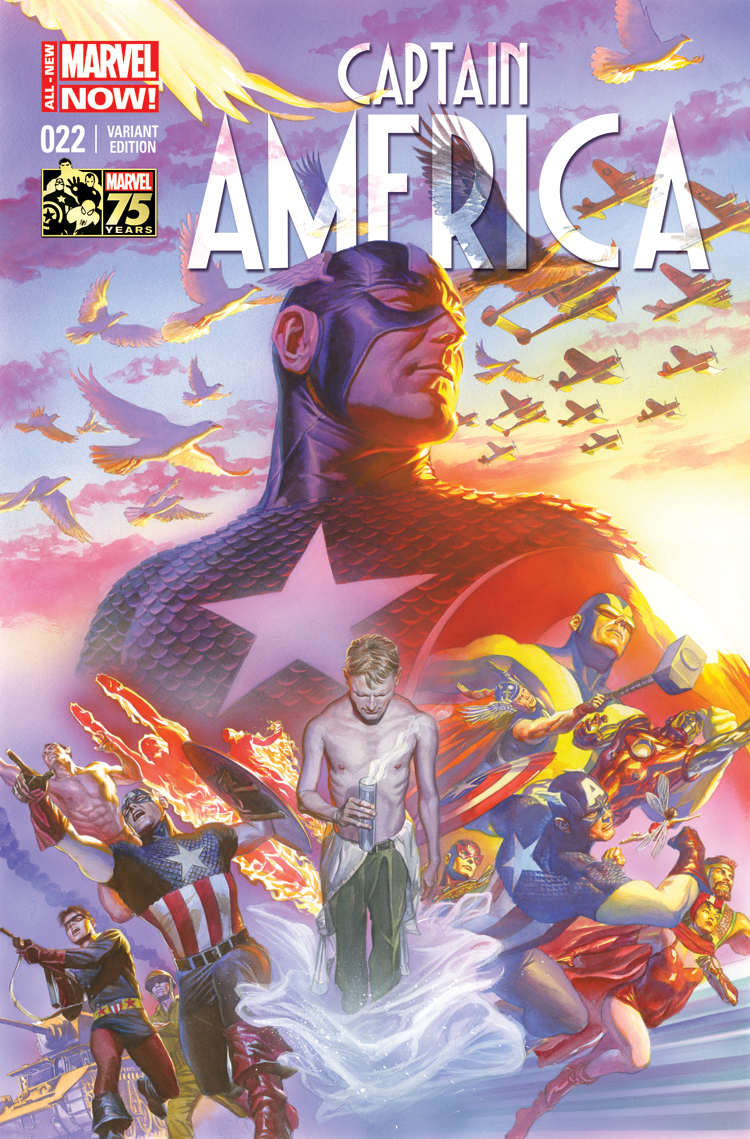 Captain America (2012) #22 (Ross 75th Anniversary Variant)