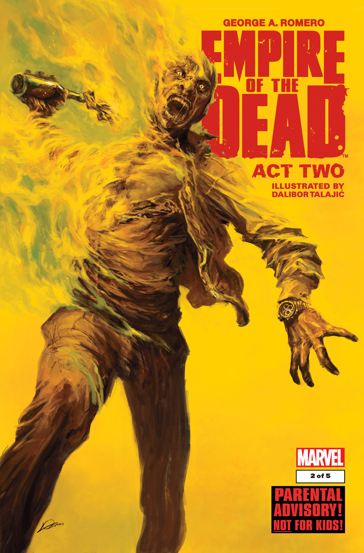 George Romero's Empire of the Dead: Act Two (2014) #2