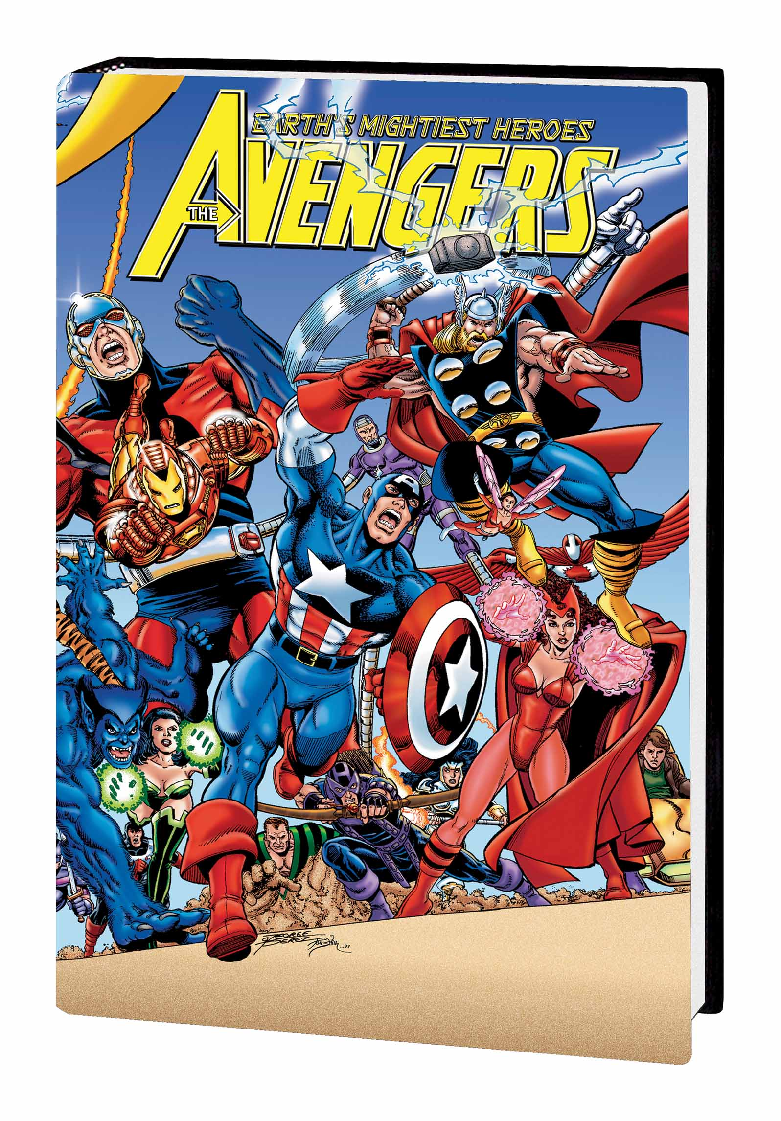 Avengers by Kurt Busiek & George Perez (Hardcover)