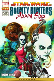 Star Wars: The Bounty Hunters - Aurra Sing #1