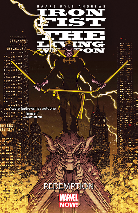 Iron Fist: The Living Weapon Vol. 2: Redemption (Trade Paperback)