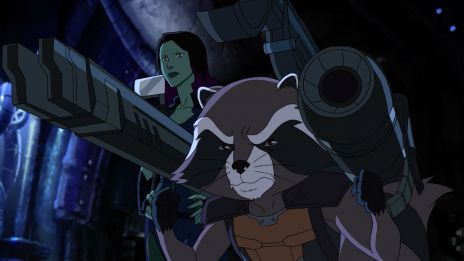 Rocket Raccoon arms himself in 'Marvel's Guardians of the Galaxy'