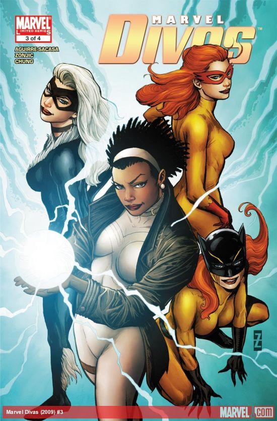 Marvel Divas (2009) #3