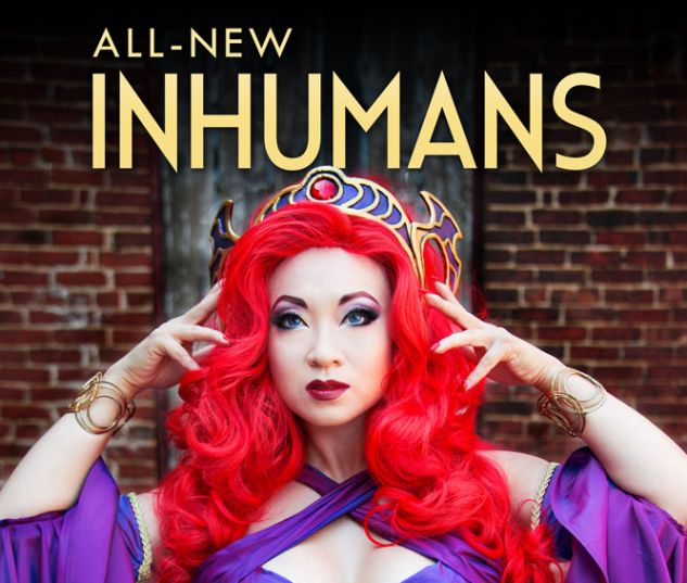 All-New Inhumans #1 variant art by Yaya Han