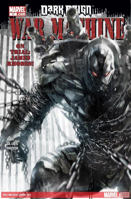 War Machine (2008) #11