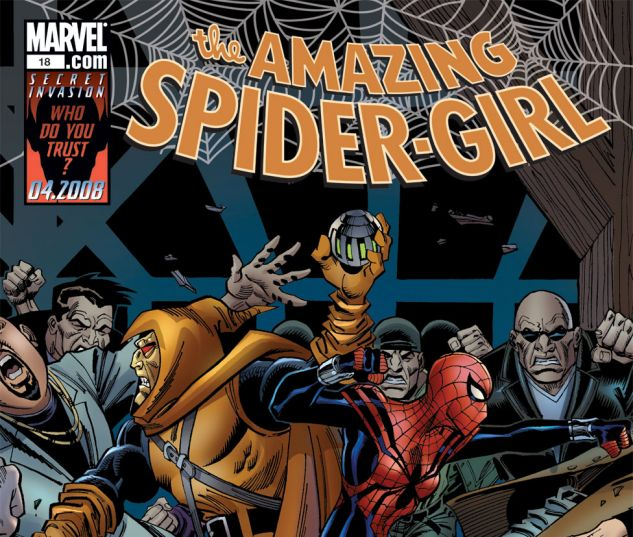 AMAZING SPIDER-GIRL (2006) #18 Cover