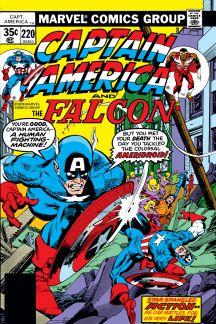 Captain America #220
