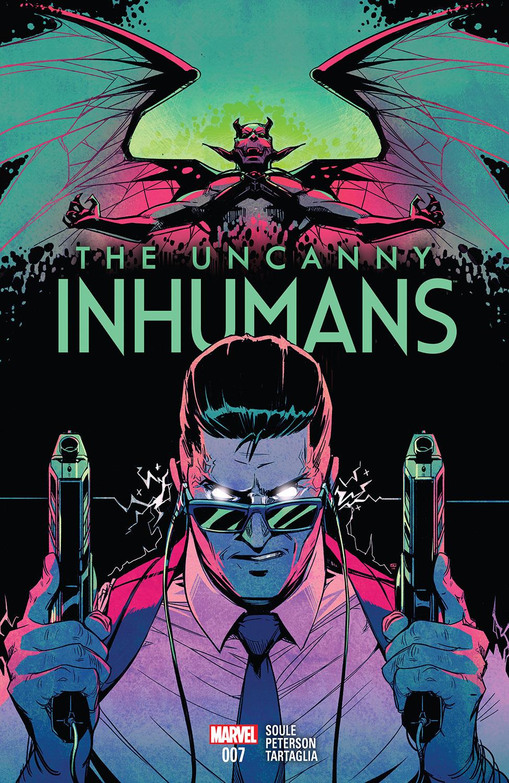 UNCANNY INHUMANS #15 NEAR MINT 2016 UNREAD MARVEL COMICS bin-2017-7117