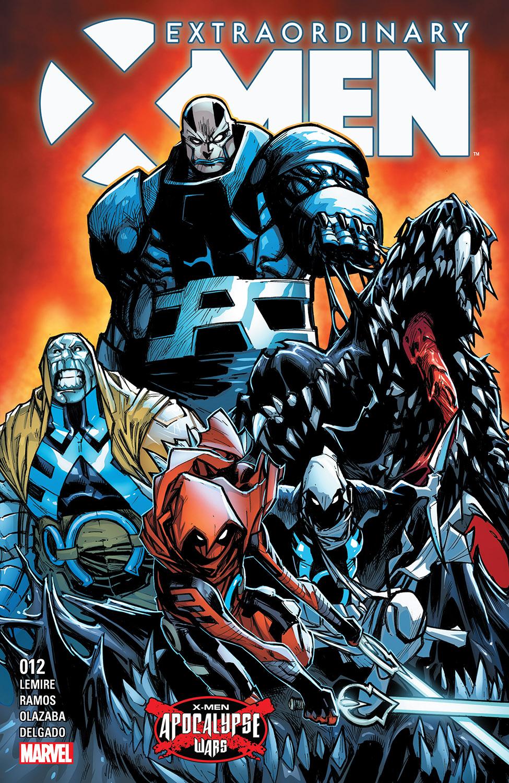Extraordinary X-Men (2015) #12
